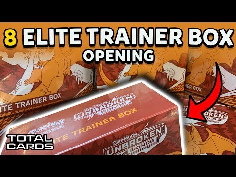 Opening x8 Pokemon Unbroken Bonds Elite Trainer Boxes 【64 Packs!】 - TotalCards.net