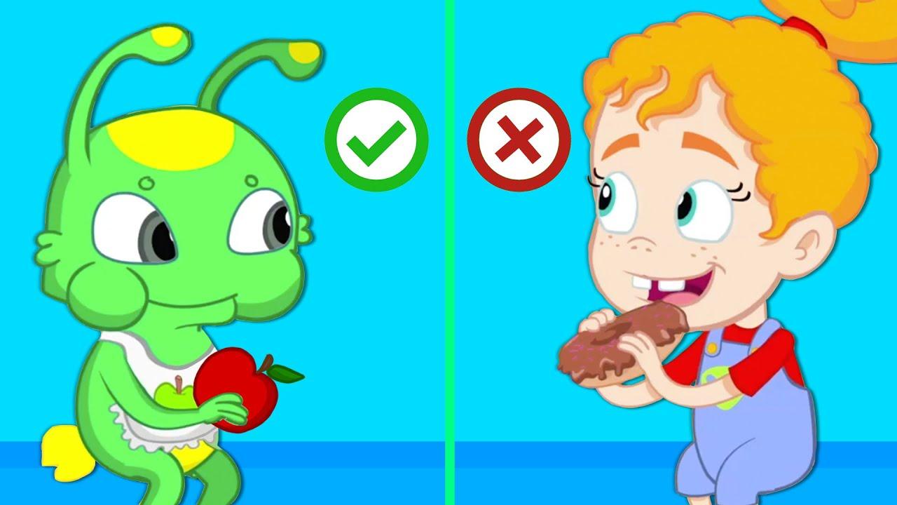 Nuevo Episodio Alimentación Saludable Para Niños Con Groovy El