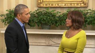 President Obama on sending Malia to college, memorable visitors