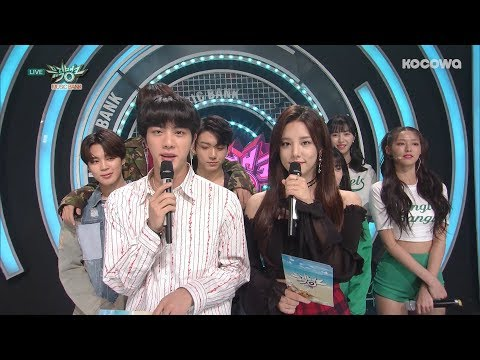 JIN (BTS) should have been the MC of MUSIC BANK!! [Music Bank Ep 932]