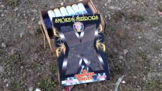 Muckleshoot 2013 Hot Rockets Fireworks Smoke-N-Mirrors Artillery Shell mortar