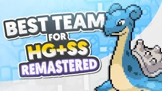 Best Team for Heartgold and Soulsilver Remastered