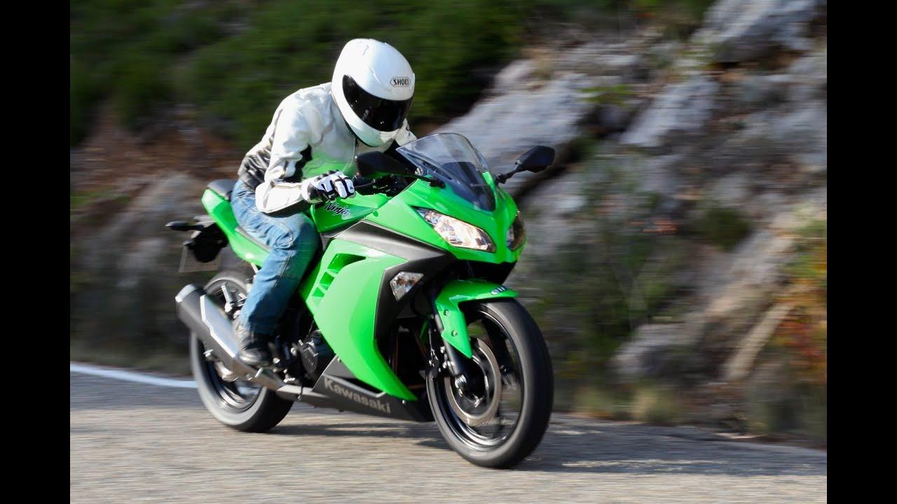 Kawasaki Ninja 300 Essai Youtube