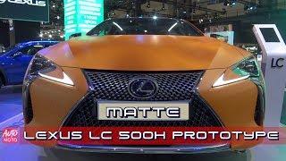 Lexus LC 500 h Matte Prototype 30th Anniversary - Exterior Walkaround - 2019 Automobile Barcelona