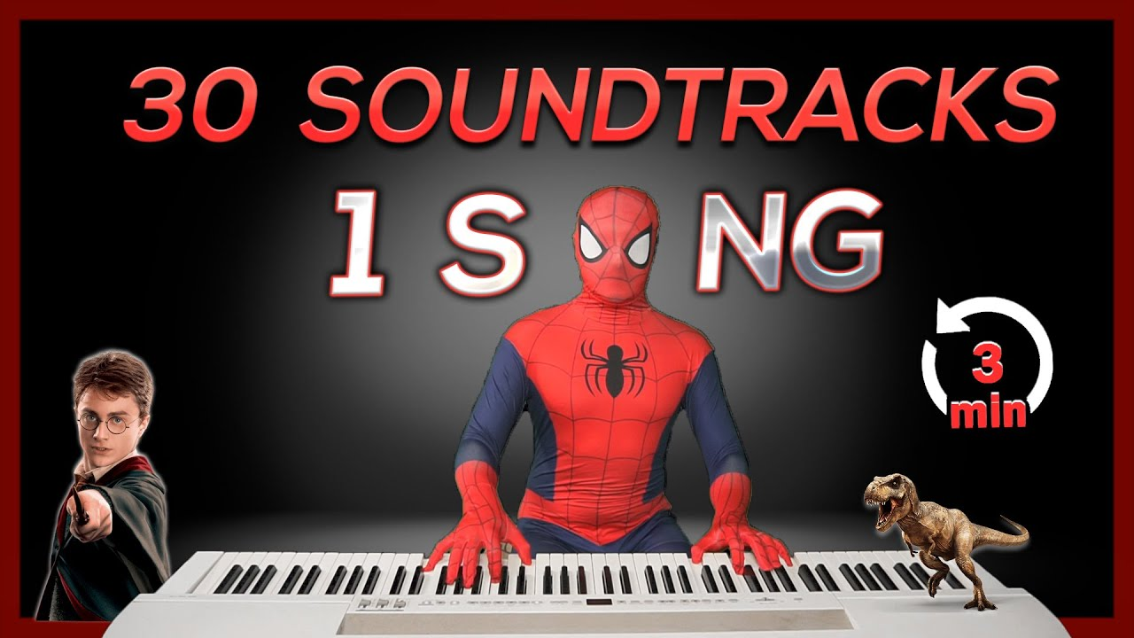 Download 30 SOUNDTRACKS in 1 SONG (in 3 Minutes)