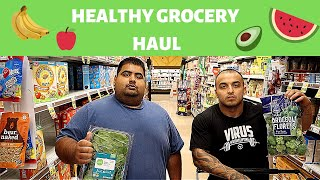 Weight-Loss Transformation | Healthy Grocery Haul and Meal Idea