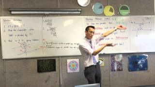 Proving Parallel Lines (2 of 2: Using the properties of angles on parallel lines for proofs)