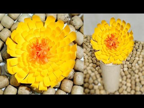 How to Make Paper Flower   DIY Paper Flower