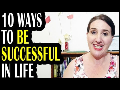 10 Ways To Be Successful In Life | Maini Homer | Tall Poppies Rising