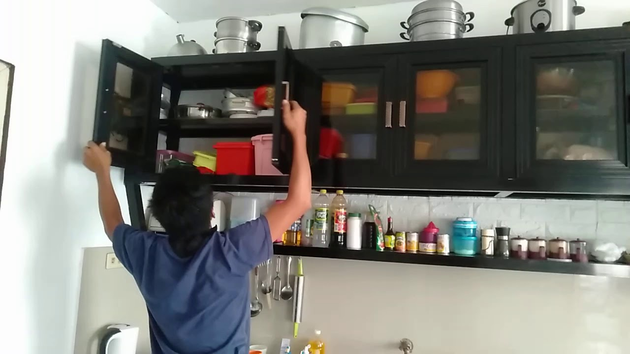 Kitchen Hang Cabinet, And Kitchen Sink Aluminum  Design & Ideas