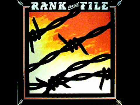 Rank and File - The Conductor Wore Black