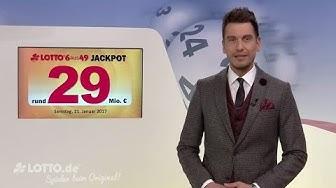 Ziehung der Lottozahlen vom Samstag, den 21.01.2017