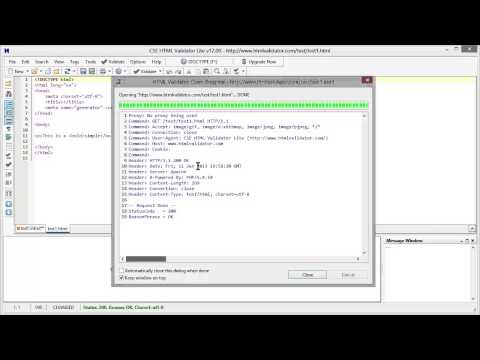 How to Validate HTML, HTML5, and XHTML with CSE HTML Validator Lite