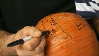Pumpkin Carving Basics: Drawing the Face