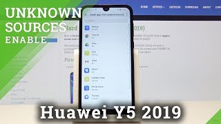 How to Activate Unknown Sources in HUAWEI Y5 2019 - Allow App Installation