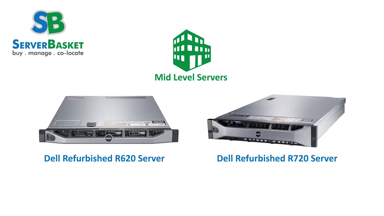 Buy Refurbished Dell Servers ! Used Dell PowerEdge Rack