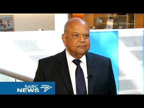 SABC catches up with Public Enterprises Minster Gordhan at the IMF