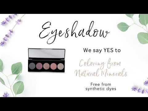 Join the Clean Beauty Movement with our Savvy Minerals Eyeshadow Palette!