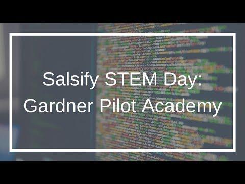 Salsify's STEM Day Guppy Tank: The Gardner Pilot Academy