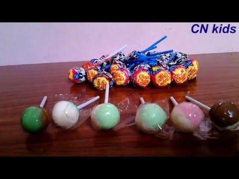 Candy chupa chups, kẹo que mút