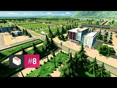 Let's Design Cities Skylines — EP 8 — The University Campus