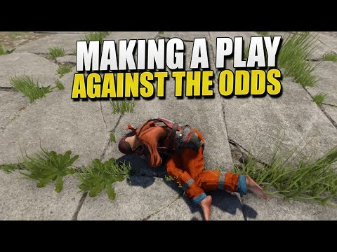 Making A PLAY AGAINST The ODDS (Rust Survival) #106