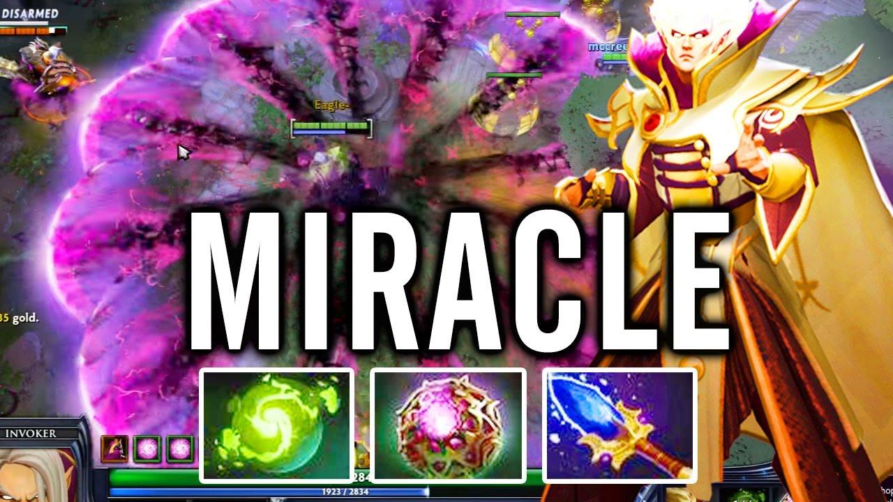Dota 2 Miracle Invoker Vs SecretMP Sven True Hero YouTube