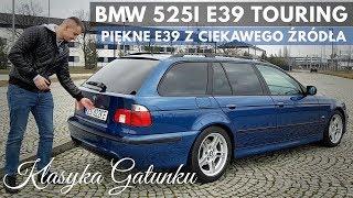 2002 BMW 525i E39 - Piękny Touring kupiony z Klasyki Gatunku.