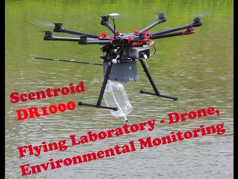Drone Environmental Monitoring, Scentroid Flying Laboratory -DR1000