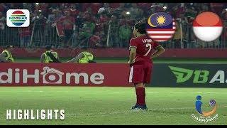 Momen Adu Pinalti Antara Malaysia vs Indonesia   AFF U-19 Championship 2018