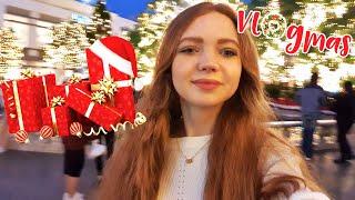 VLOGMAS 3 Покупаю подарки на новый год большой шоппинг