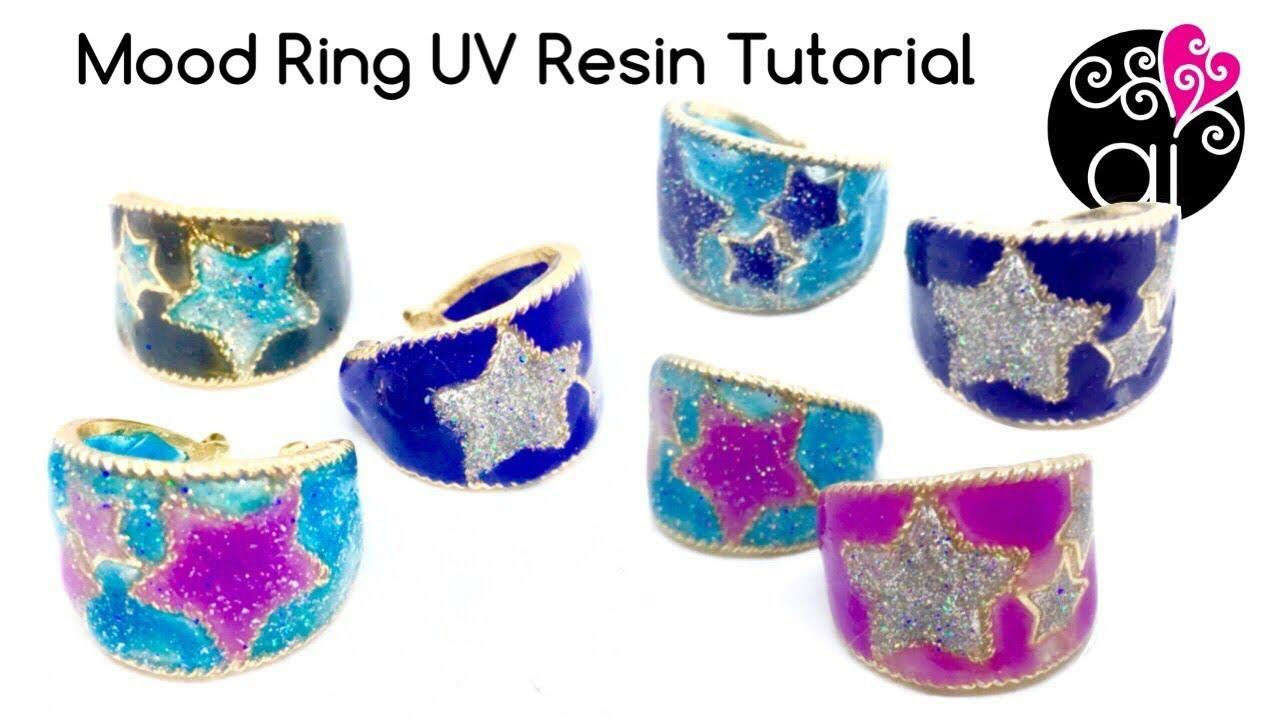 How to Make Mood Ring | UV Resin Tutorial