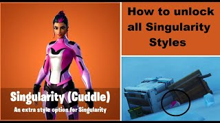 All 5 Fortnite Singularity Skin Helmet Locations (All Locations) | Fortnite Skin Variants Challenge