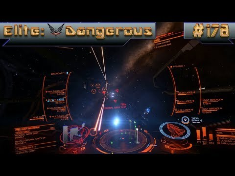 Let's Play Elite: Dangerous - Episode 178: Federal Gunship Test Flight!