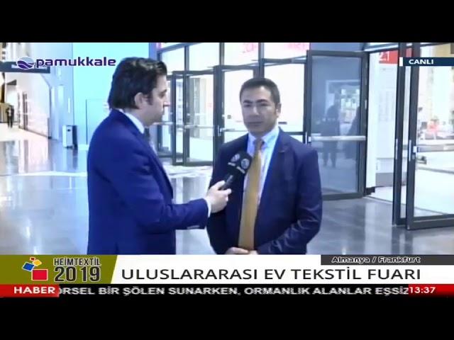 Pamukkale TV Heimtextil 08 01 2019