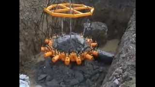 wequips is offering hydraulic pile breakers type 380 by taets round 15 links