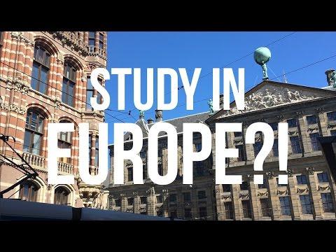 STUDY IN EUROPE?! Escape College Debt & Have Fun!