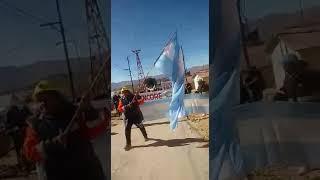 Video: Marcha de los trabajadores de Mina El Aguilar en huelga