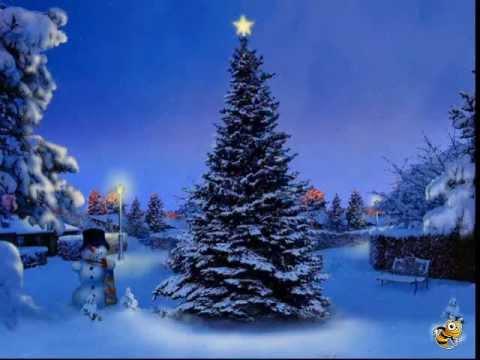 Free Animated Snow Falling Wallpaper Christmas Tree Screensaver Www Screensaverspc Com Youtube