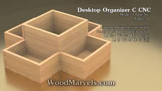 Desktop Organizer C Cnc: 3d Assembly Animation (1080hd)