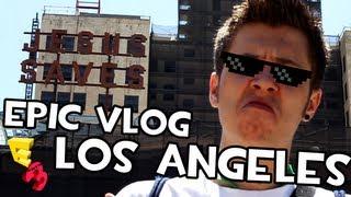 Rubius en Los Angeles | JUEGOS AWESOME, PILOTOS CON FLOW Y COCHAZOS
