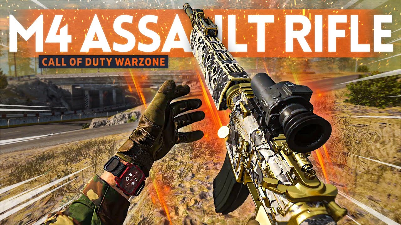 The M4 Is the BEST Assault Rifle in WARZONE! (Class Setup Loadout)