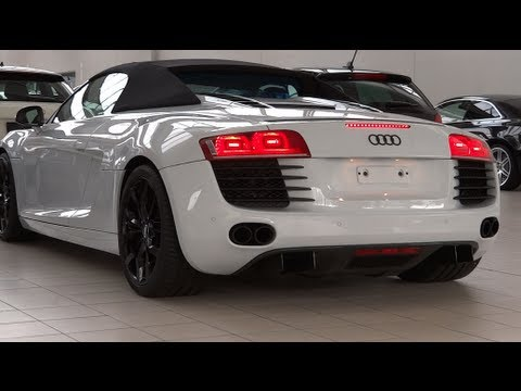 Carbon Pack Audi R8 Spyder SOUND  FULL HD 1080p  YouTube