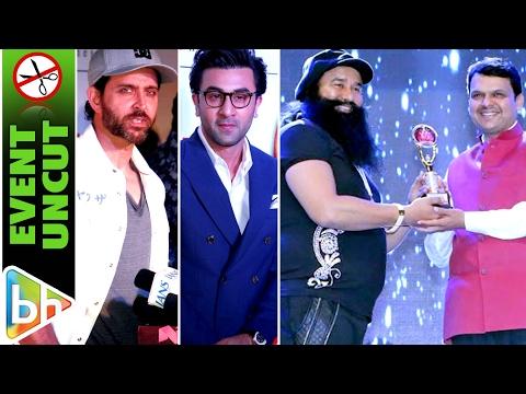 Hrithik Roshan | Ranbir Kapoor | Gurmeet Ram Rahim Singh | Bright Awards 2017 | Event Uncut