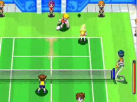 Mario Tennis Power Tour Playthrough Part 9 - Island Open Doubles