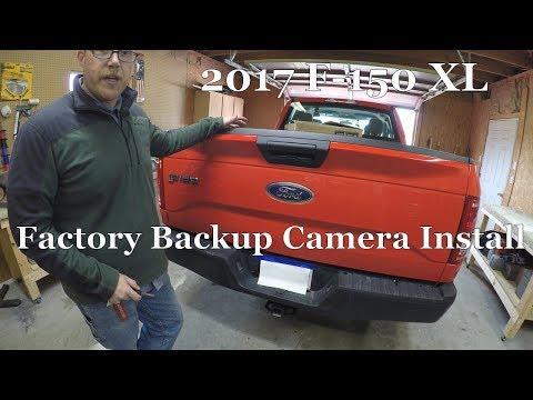 2017 F-150 Backup Camera Install & Activation (OEM/Factory Camera)