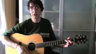 Flatpicking - #1 New River Train - Guitar Lesson - Roberto Dalla Vecchia