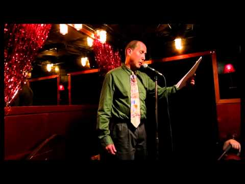 """Open Mic Gypsy"" Michael Anton for Rimes of The Ancient Mariner April 29 2015"
