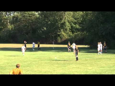 Muskegon Catholic Soccer Throw in