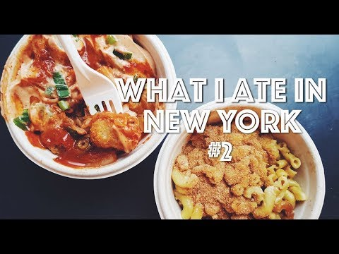 WHAT I ATE IN NEW YORK (VEGAN) #2